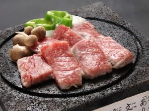 溶岩焼きステーキ