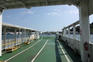 尾道向島への渡船