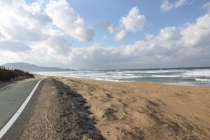 三里松原の風景