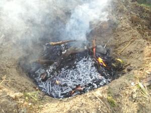 焚き火最高
