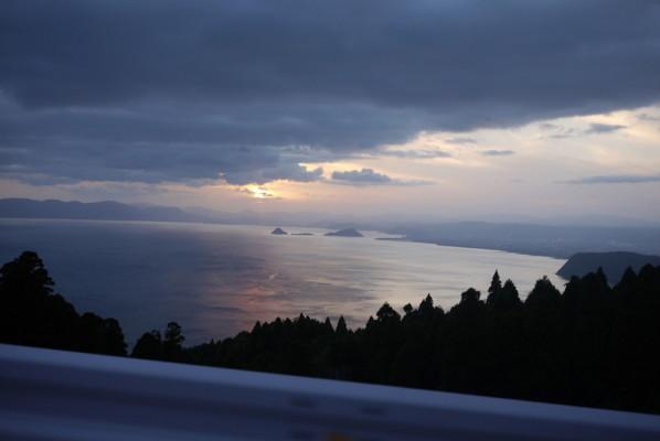 錦江湾の風景