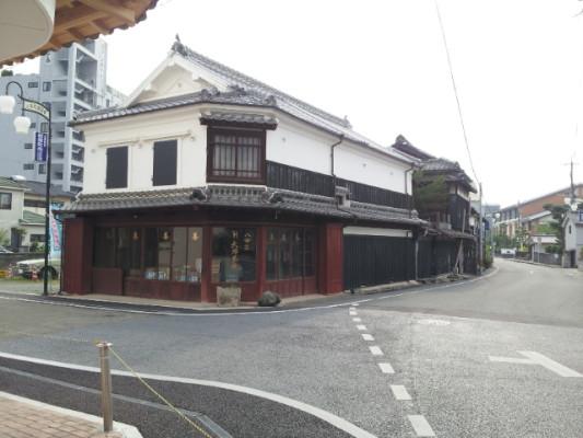 八女福島の街並み