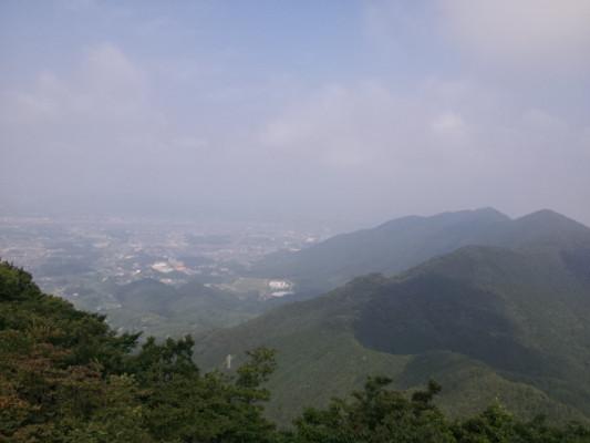 尺岳からの眺望