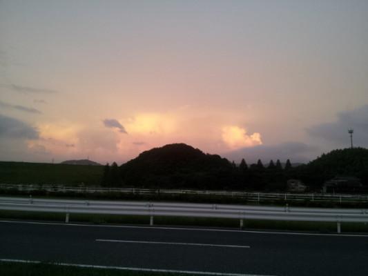 台風8号接近中