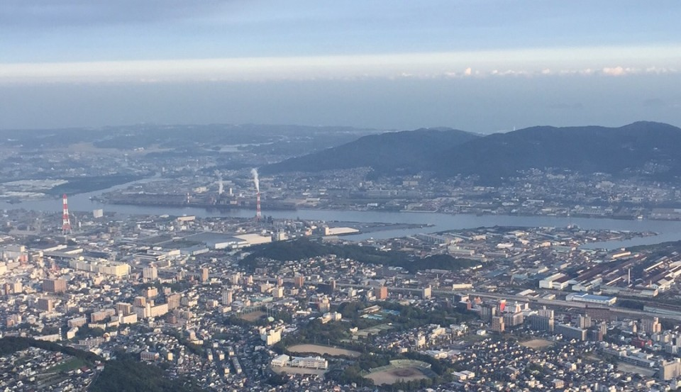 皿倉山頂からの風景