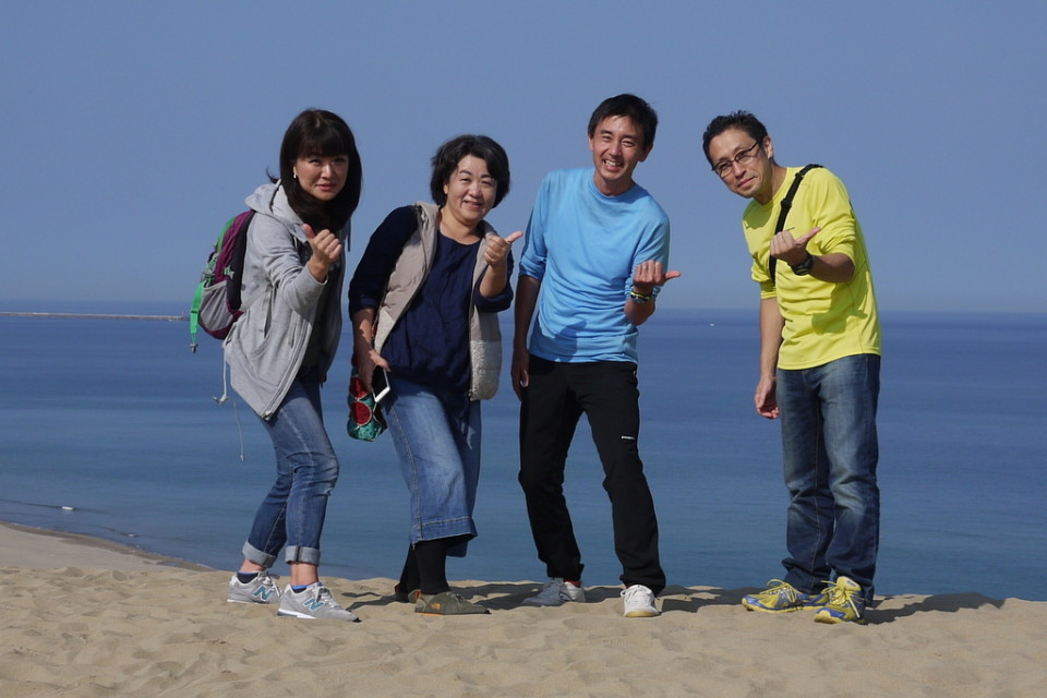 鳥取砂丘でちょっと観光