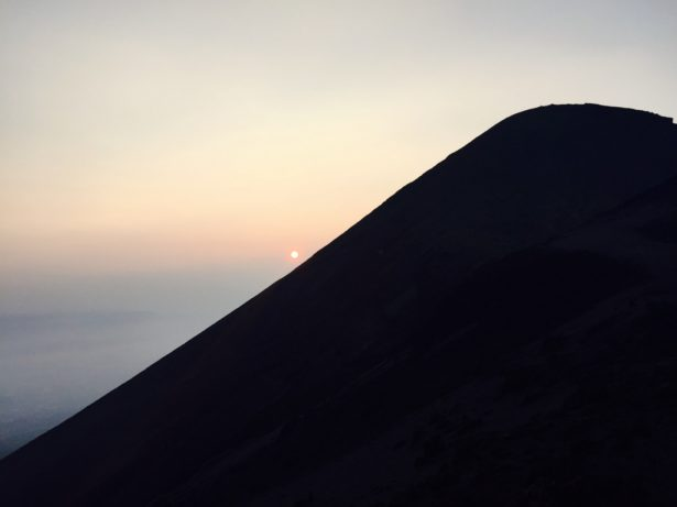 高千穂峰からの日の出