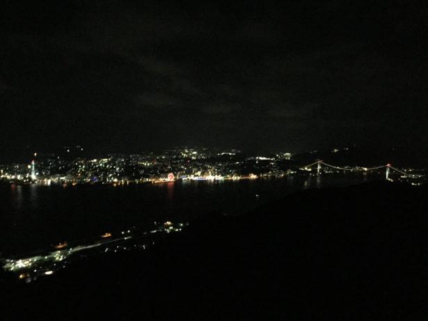 風師山からの夜景