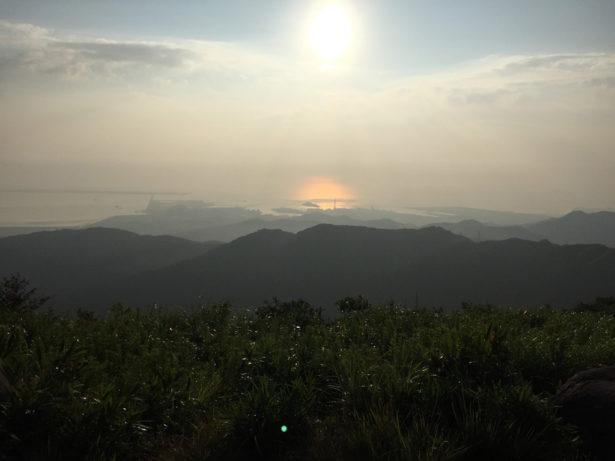 貫山山頂からの眺望