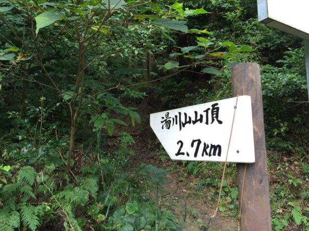 成田山に行く途中に登山道があります