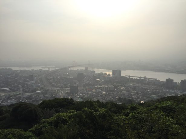高塔山からの眺望