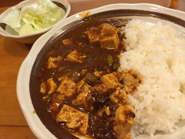 味彩吉野の麻婆豆腐ランチ