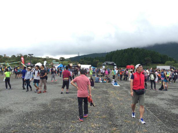 STYのスタート会場の富士山こどもの国