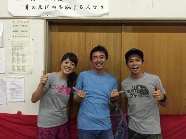鬼塚智徳選手と宮崎喜美乃選手