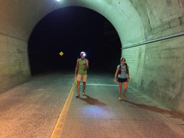 畑と河内を繋ぐトンネル