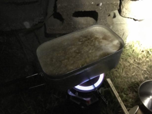 深夜のチキンラーメン