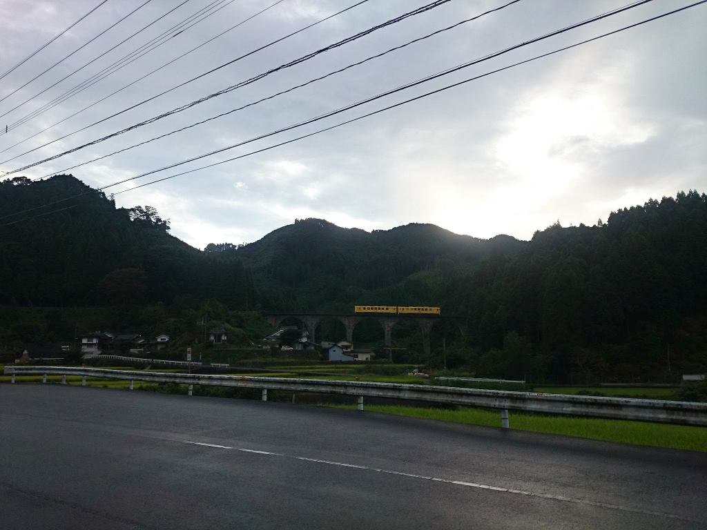 東峰村のめがね橋