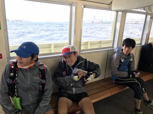 渡船で若松へ移動