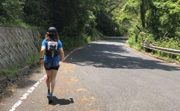 ロード主体の峠道走