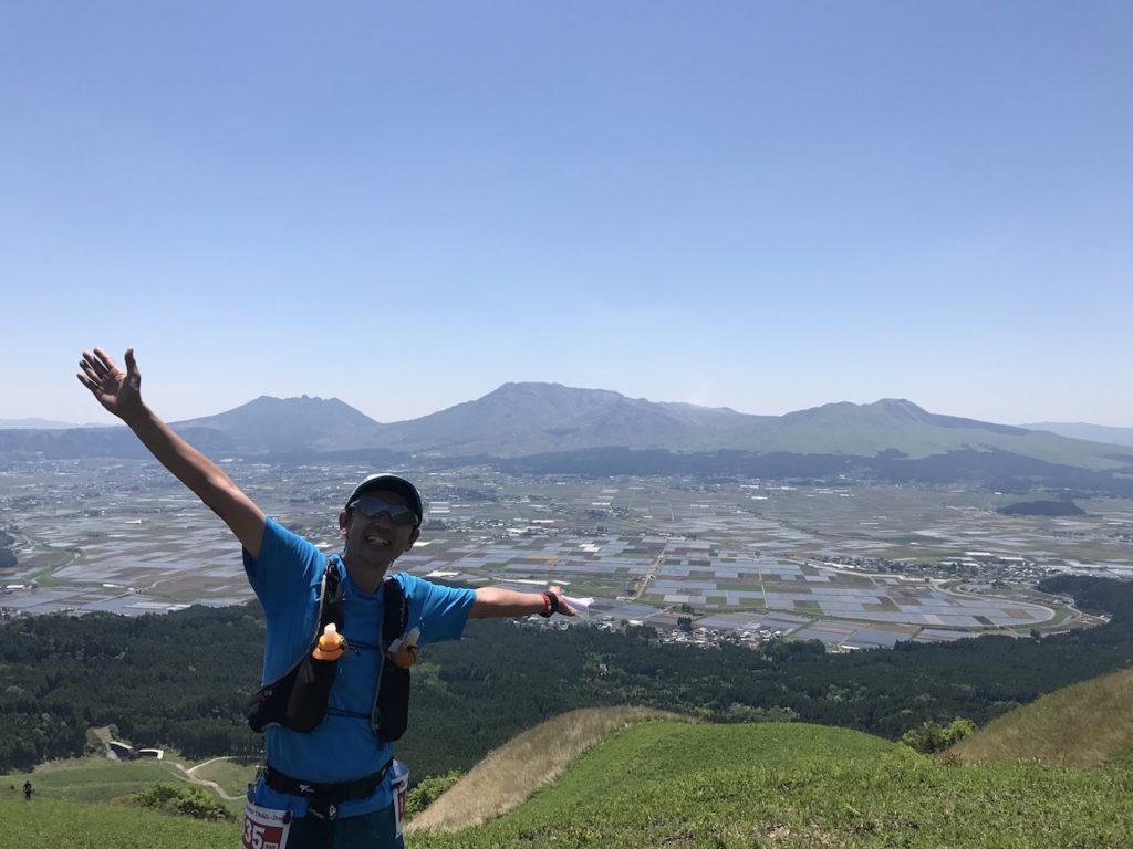 阿蘇五岳が一望