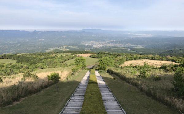 日本一の枕木階段