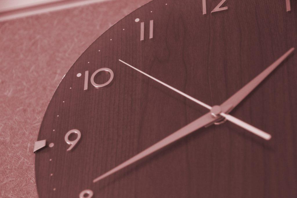 時間は平等